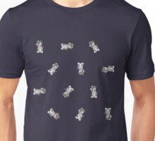 Mini Schnauzer Dog Pattern Unisex T-Shirt