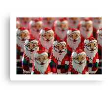 Santa's Army Canvas Print