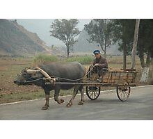 Rural China Photographic Print