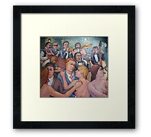 Men, Women and Music Framed Print