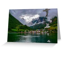 Graceful Nature Greeting Card