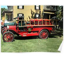 1915 FORD FIRE TRUCK Poster