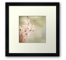 I mainly like life to be peaceful with a few loud noises thrown in to remind me to be grateful for the quiet I have... Framed Print