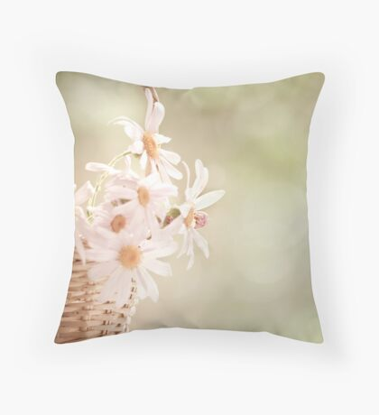 I mainly like life to be peaceful with a few loud noises thrown in to remind me to be grateful for the quiet I have... Throw Pillow