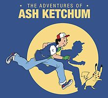 The Adventure of Ash Ketchum by Akiwa