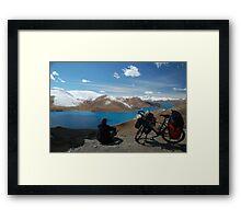 Roof of the World, Tibet Framed Print