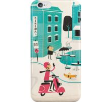 In the Town Square iPhone Case/Skin