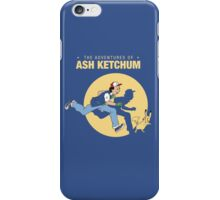 The Adventure of Ash Ketchum iPhone Case/Skin