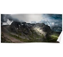 Ben Nevis North Face Poster