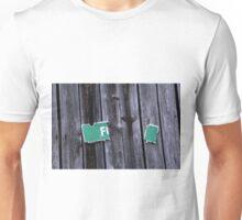 Rustic Barn Sign Unisex T-Shirt
