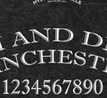 Spirit Boards, Winchester-Style! Sticker
