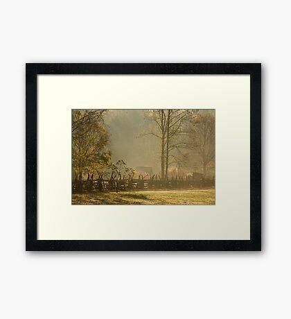 Golden Morn II Framed Print