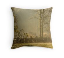 Golden Morn II Throw Pillow