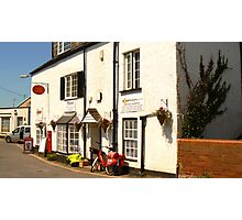 Lympstone Post Office Photographic Print