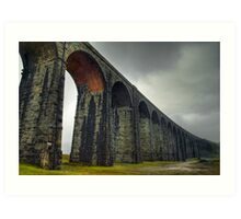 Ribblehead Viaduct, Yorkshire Dales Art Print
