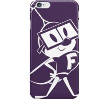 Fearless Fly – white version iPhone Case/Skin