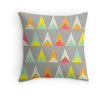 Triangle Triangle Throw Pillow