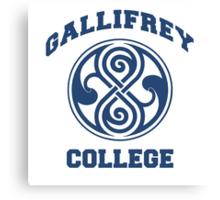 Gallifrey College Canvas Print