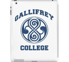 Gallifrey College iPad Case/Skin