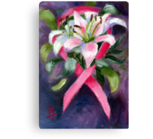 CARING ACEO Canvas Print