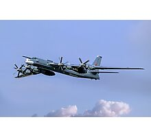 "Tupolev Tu-95MS ""Bear H"" Black 23 Photographic Print"