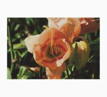 Light Peach Lilly One Piece - Short Sleeve