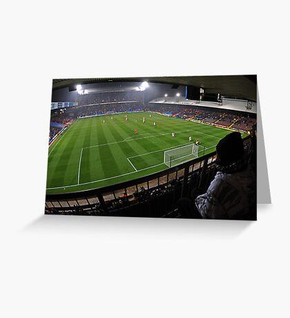 Fisheye View of the Crystal Palace Stadium Greeting Card