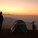 Himalayan sunrise  by Peter Gostelow