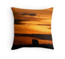 Dolmen Sunset Throw Pillow