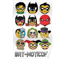 Bat-Moticons Poster