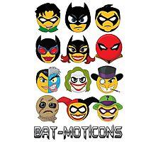 Bat-Moticons Photographic Print