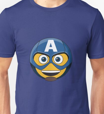 Captain A-Moticon Unisex T-Shirt