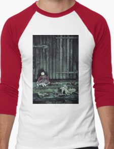 forgotten doll Men's Baseball ¾ T-Shirt