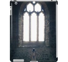 girl in church iPad Case/Skin