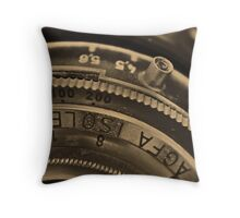 AGFA ISOLETTE II -- II Throw Pillow