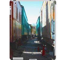 Between Trains iPad Case/Skin