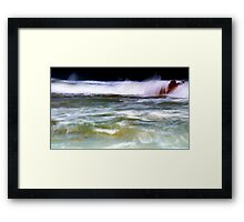 Fluid Framed Print