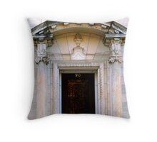 greek in todays world Throw Pillow