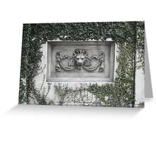 Lion Head Crypt Greeting Card