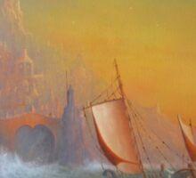 The Silmarillion Voyage Of Earendil Sticker