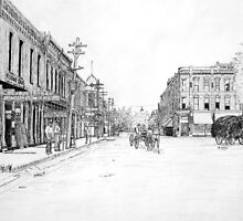 Bentonville, Arkansas Square - 1914 by ronend