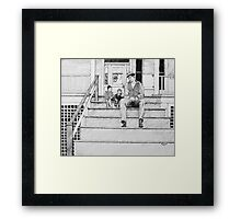 Dialogue 1945 Framed Print