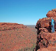 Kings Canyon, Watarrka National Park, Northern Territory, Australia by Adrian Paul