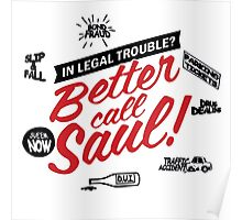 Need legal help? Better call Saul. Poster