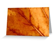 Crispy Golden Brown Greeting Card