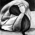 Reclining Woman #4 by Reba Hierholzer