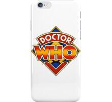 Doctor Who Tom Baker Logo (available as leggings) iPhone Case/Skin