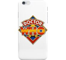 Doctor Who Tom Baker Logo (available as leggings) iPhone Case/Skin