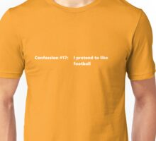 Confession #17 Unisex T-Shirt