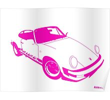My own 911 in pink Poster